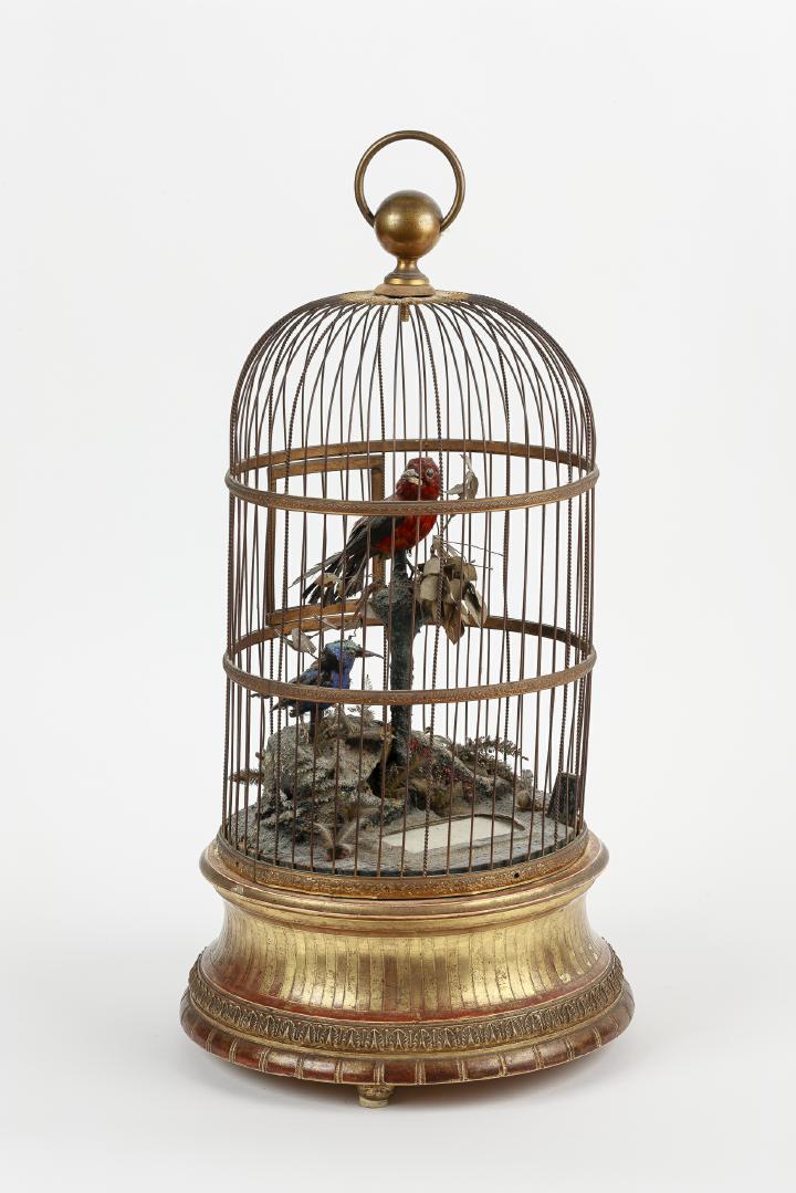 Singvogelautomat, Paris, um 1870