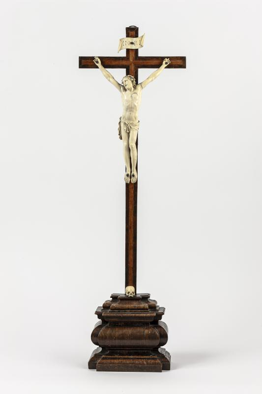 Standkruzifix, Umkreis Georg Petel, um 1630