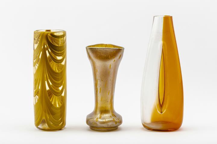 Jugendstilglas und Modernes Glas