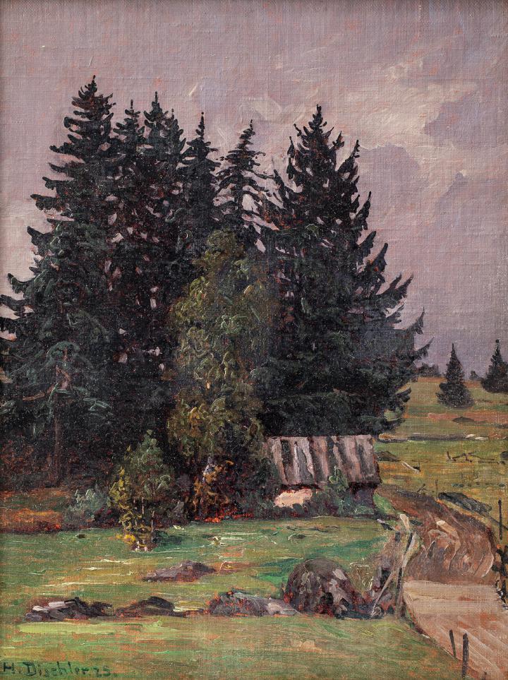 """Hermann Dischler """"Herbst bei Schönwald"""""""