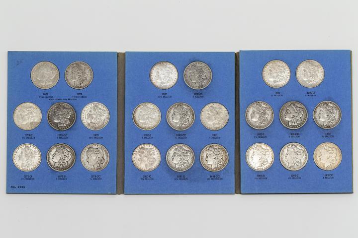 1-Dollar-Sammlung (1878-1935)