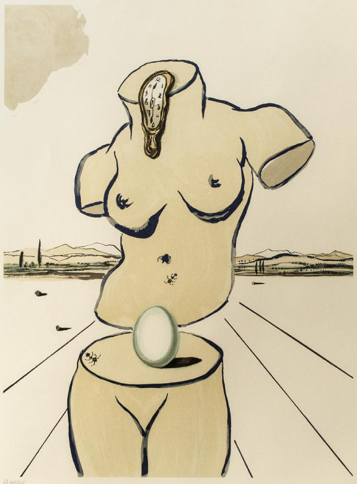 "Salvador Dali ""Geburt der Venus"""